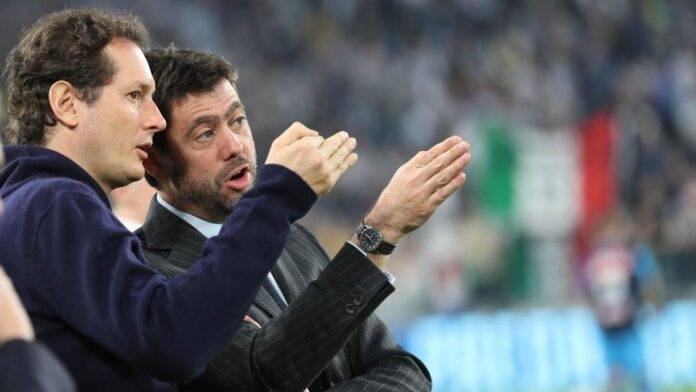 Juventus Elkann Agnelli Paratici Marotta