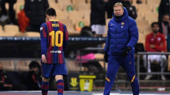 Messi e Koeman
