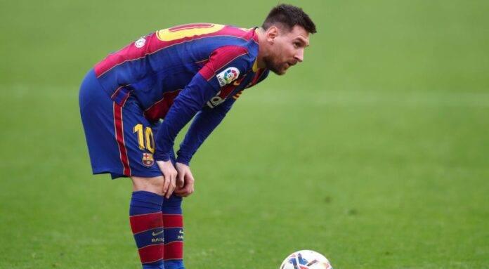Leo Messi in campo