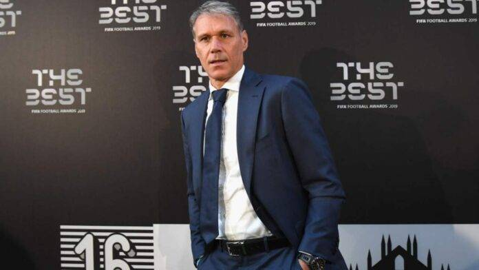 Van Basten al The Best FIFA Football