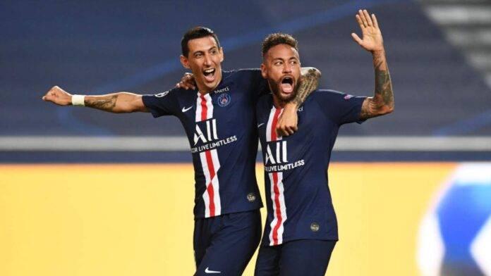Di Maria e Neymar esultano