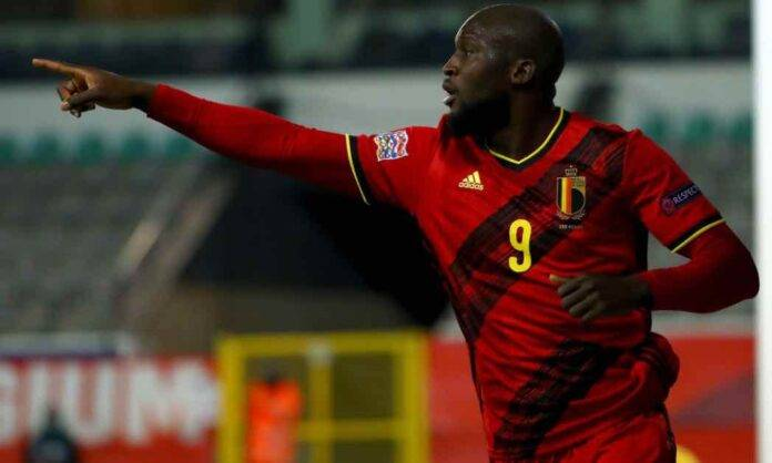 Lukaku esulta col Belgio