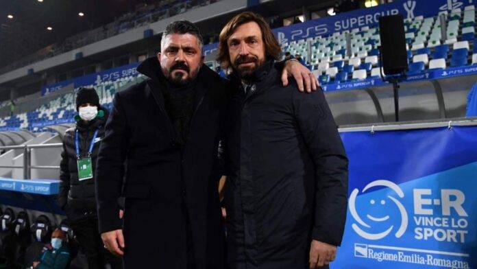 Pirlo e Gattuso al Mapei stadium