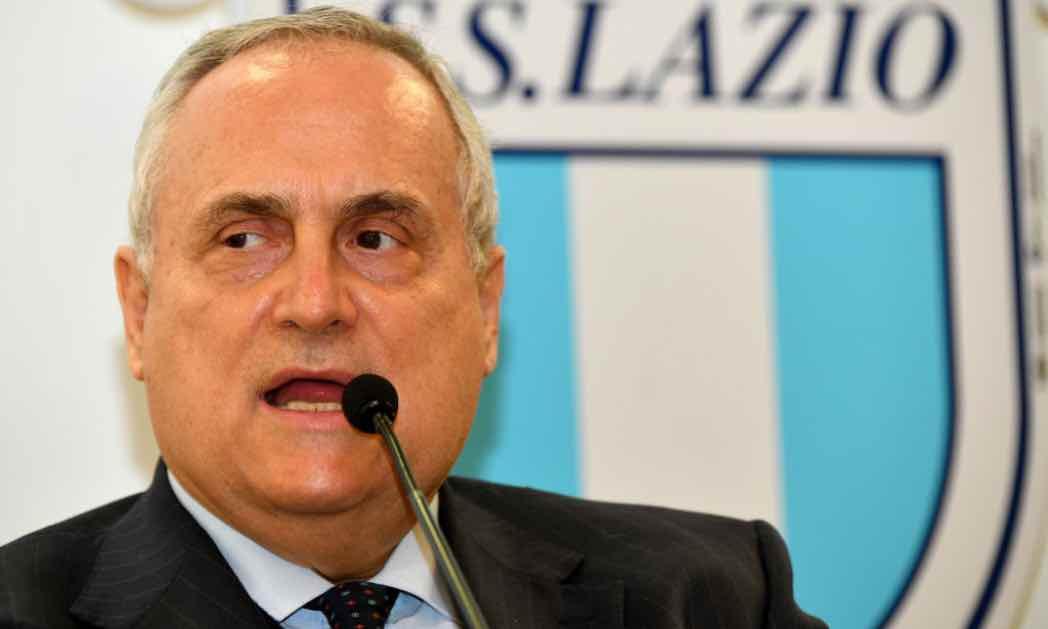 Lazio, Claudio Lotito parla in conferenza stampa
