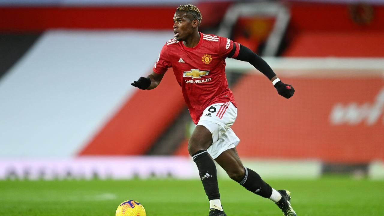 Paul Pogba in azione