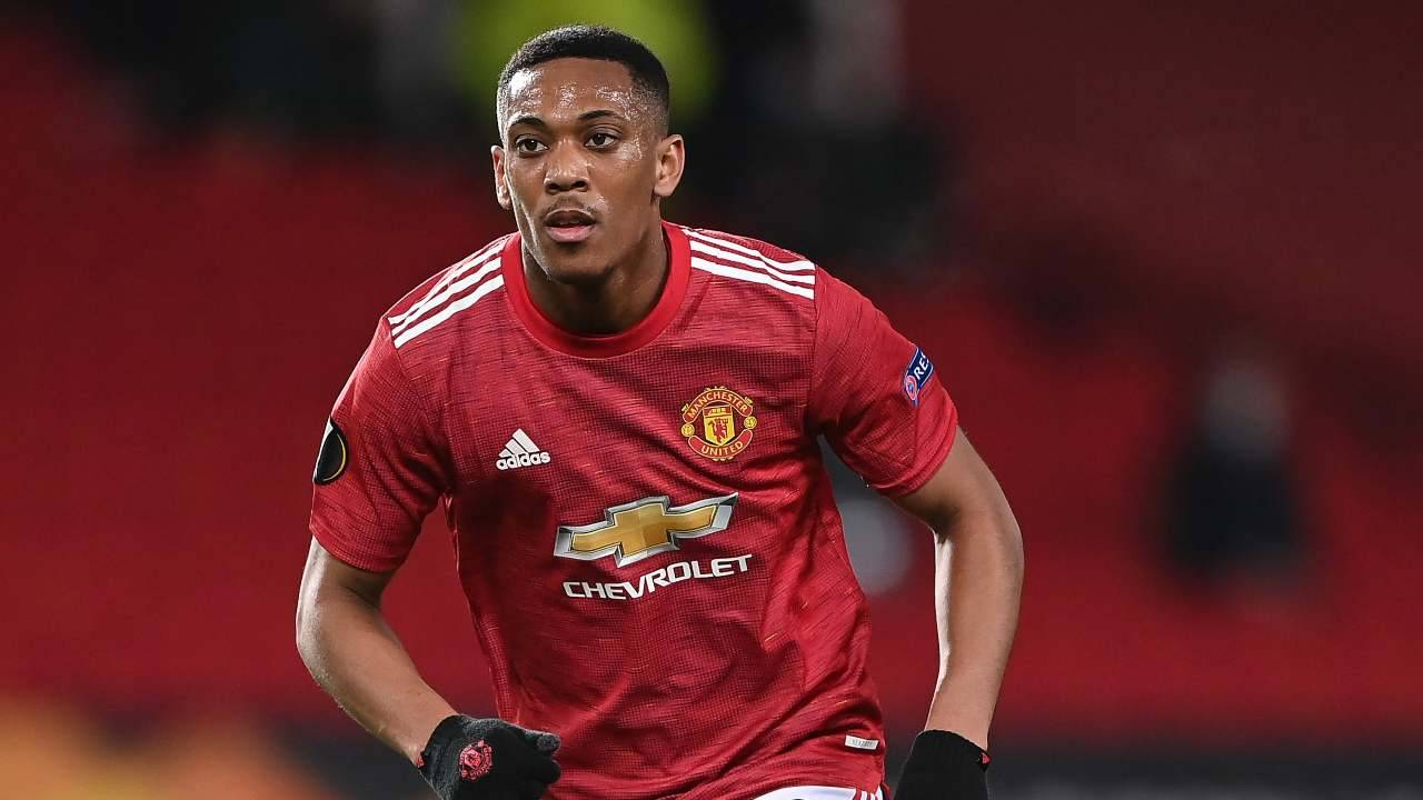 Anthony Martial in azione