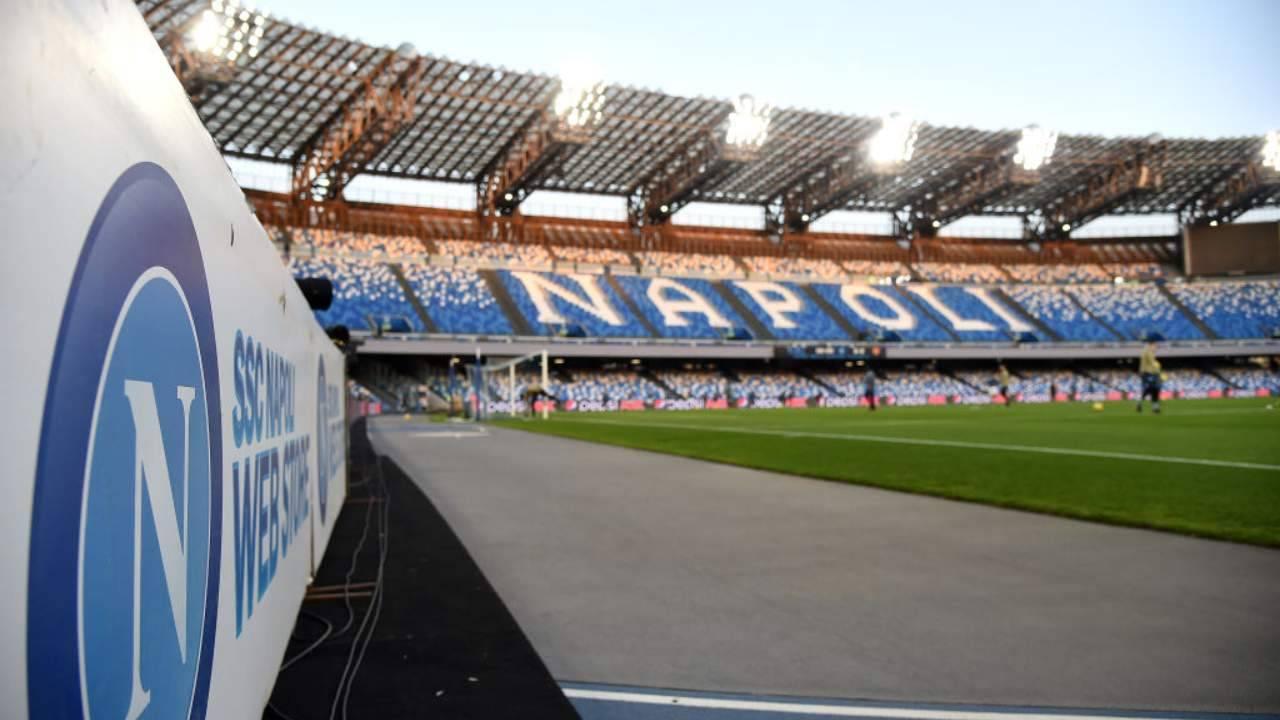 Stadio Diego Armando Maradona vuoto