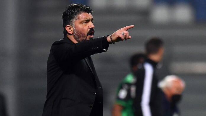 Gennaro Gattuso dà indicazioni