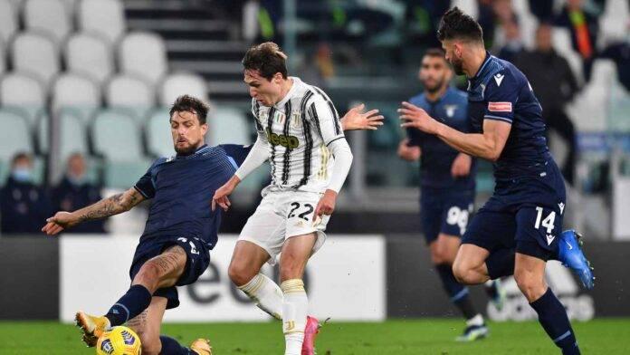 Juventus e Lazio in campo