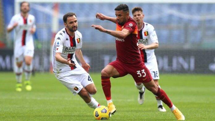 Roma e Genoa in campo