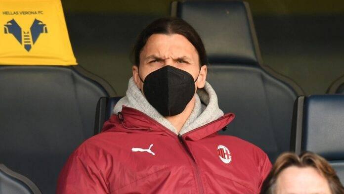 Zlatan Ibrahimovic in tribuna