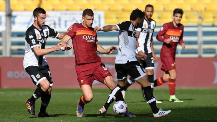 Parma e Roma in campo