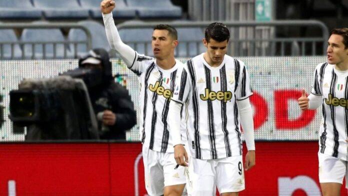 Esultanza della Juventus
