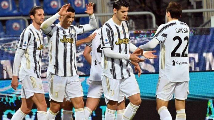 Esultanza Juventus