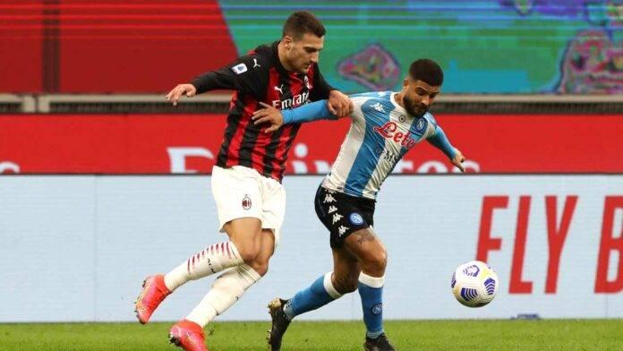 Milan e Napoli in campo