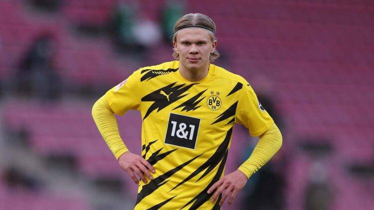 erling haaland in campo