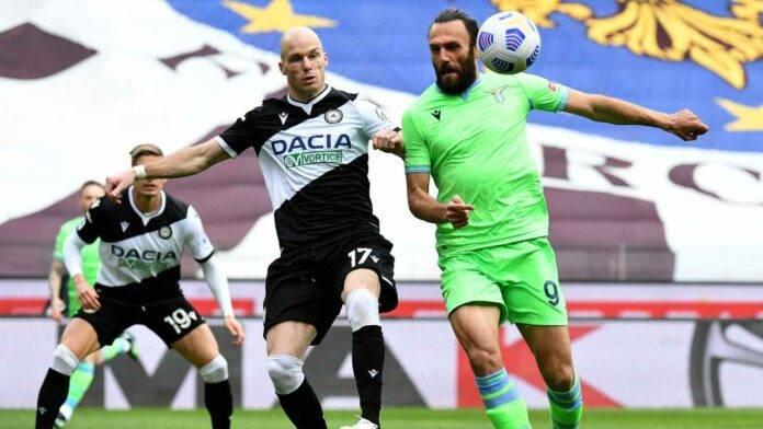 Udinese e Lazio in campo