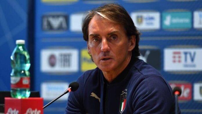 Mancini in conferenza stampa
