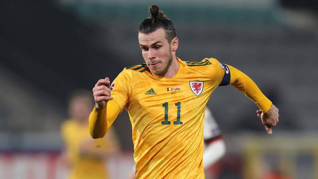 Gareth Bale in azione