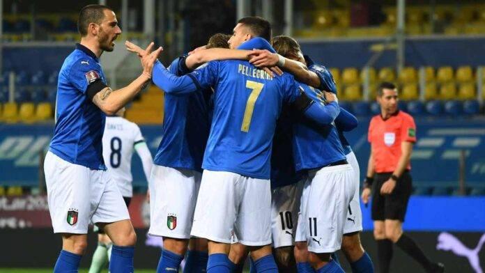 L'Italia esulta