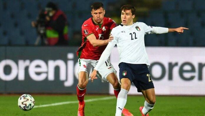 Bulgaria e Italia in campo