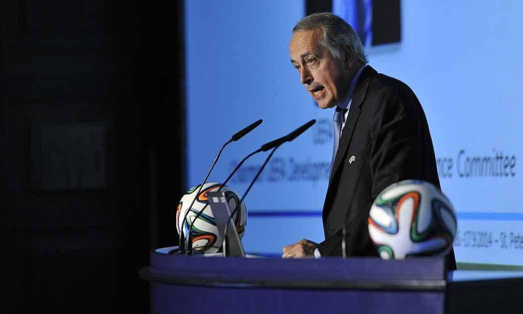 Abete parla alla UEFA