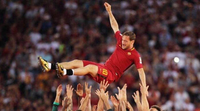 Francesco Totti dopo Roma-Genoa