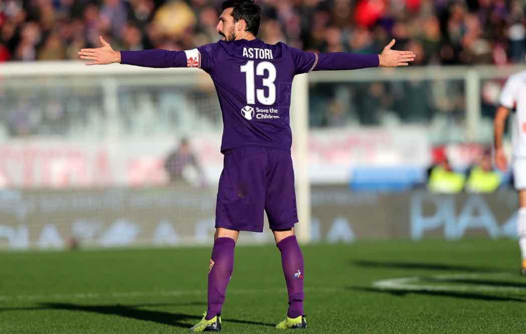 Astori dirige la difesa della Fiorentina