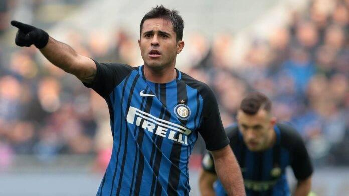 Eder in campo con l'Inter