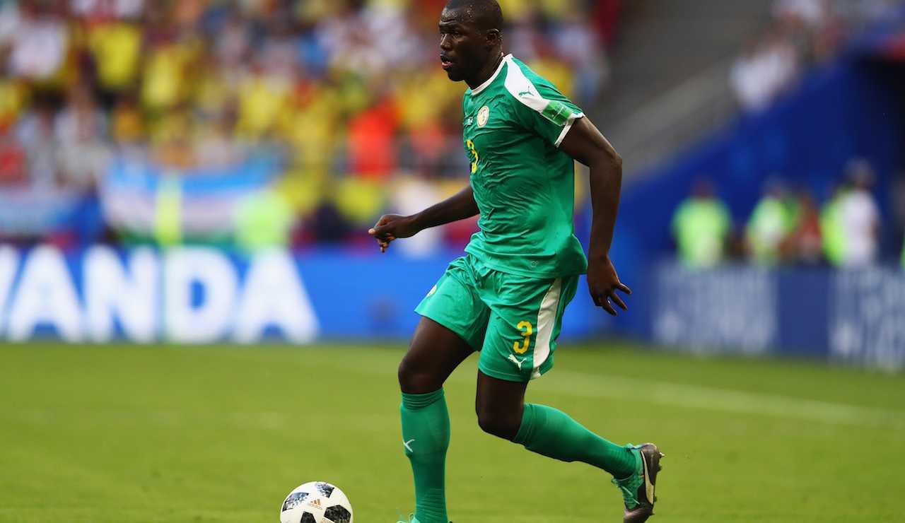 Koulibaly Senegal Napoli infortunio Juventus