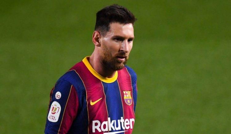 Lionel Messi in campo