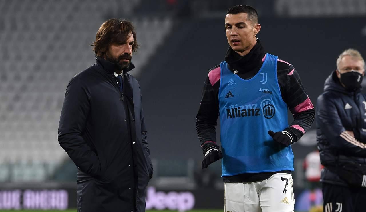 Nedved Juventus Pirlo Ronaldo
