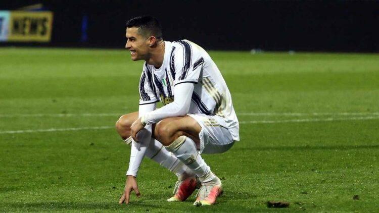 Ronaldo in ginocchio