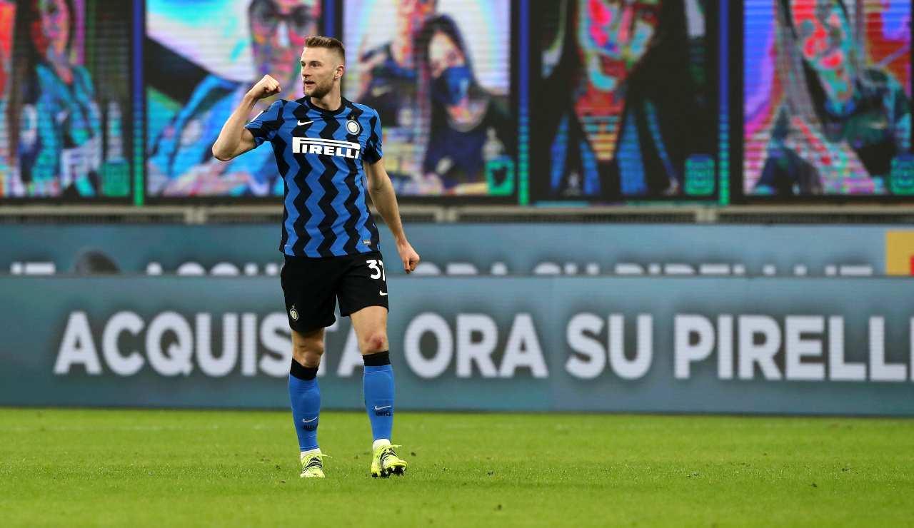 Inter Atalanta Conte Skriniar