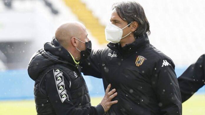 Italiano ed Inzaghi si salutano