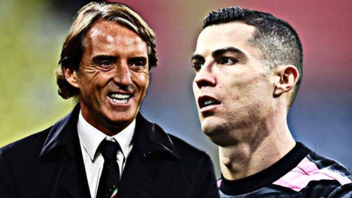 Mancini e Ronaldo