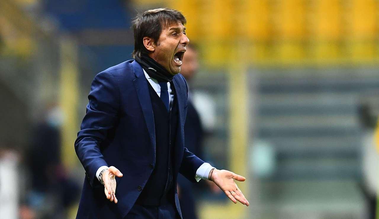 Antonio Conte urla