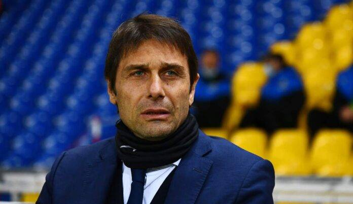 Antonio Conte triste