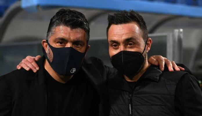 Gattuso e De Zerbi