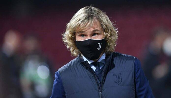Pavel Nedved con la mascherina