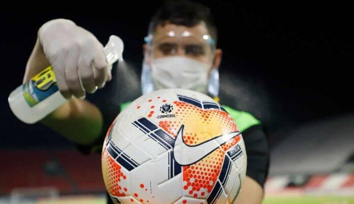pallone igienizzato
