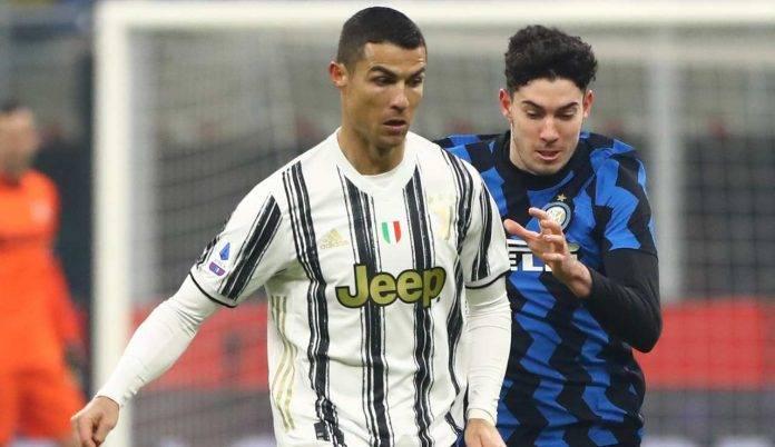 Bastoni e Ronaldo in azione