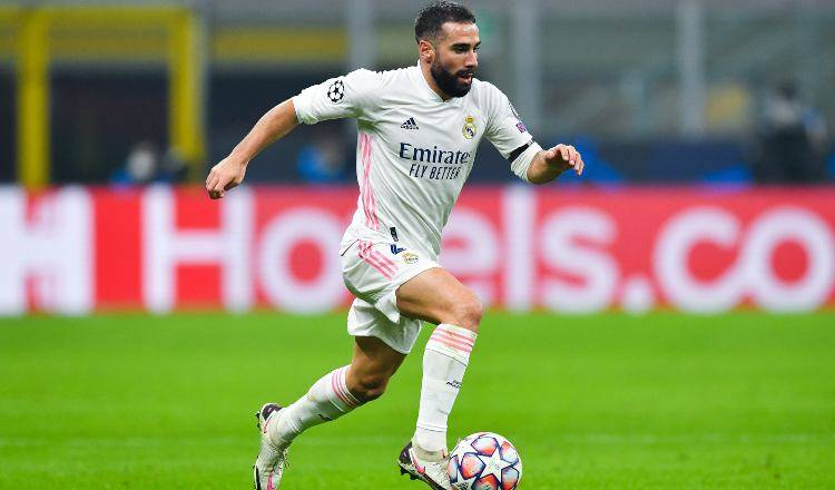 Carvajal in azione