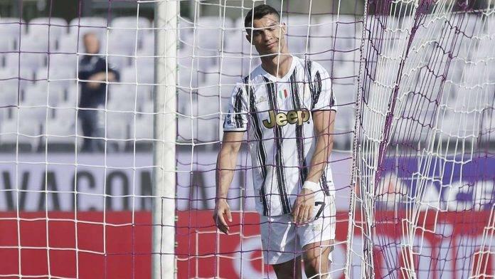 Juventus Ronaldo quattro partite