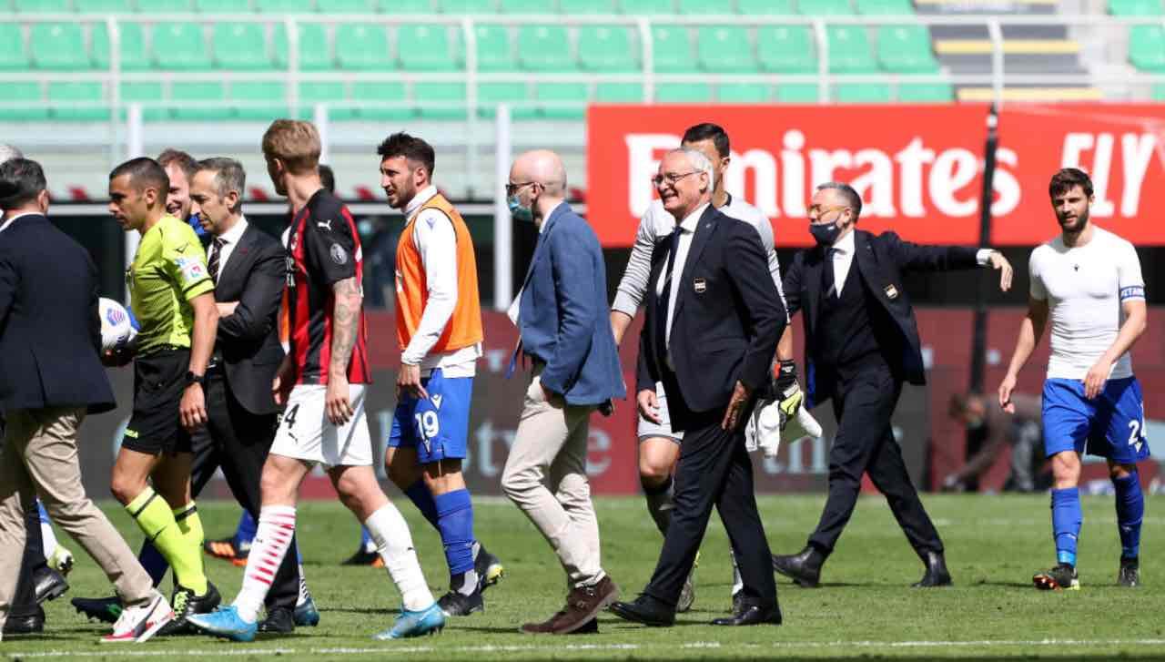 Finale Milan-Sampdoria