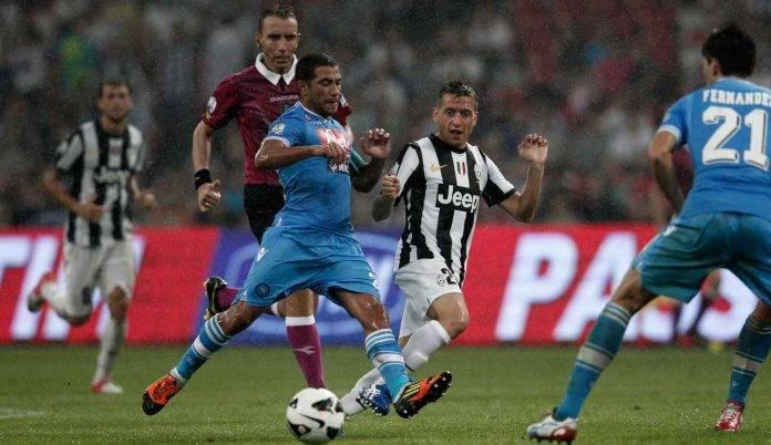 Gargano in campo, Supercoppa italiano 2012