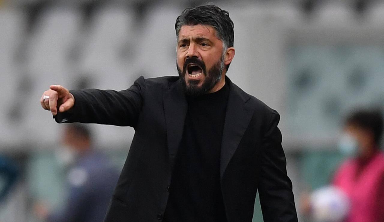 Gattuso incontrerà De Laurentiis alla fine del campionato