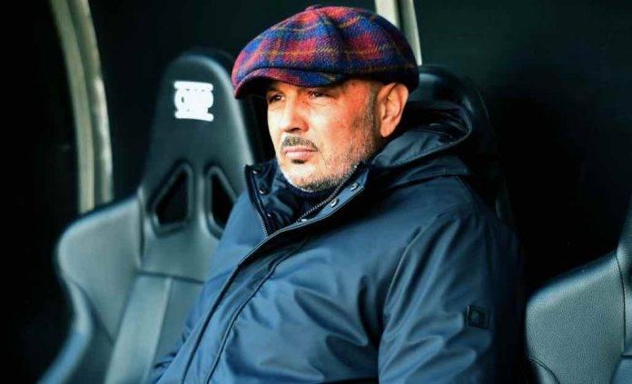 Mihajlovic in panchina in Sampdoria-Bologna