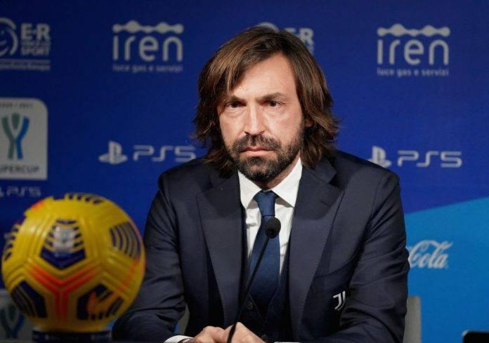 Juventus, Pirlo parla in conferenza stampa