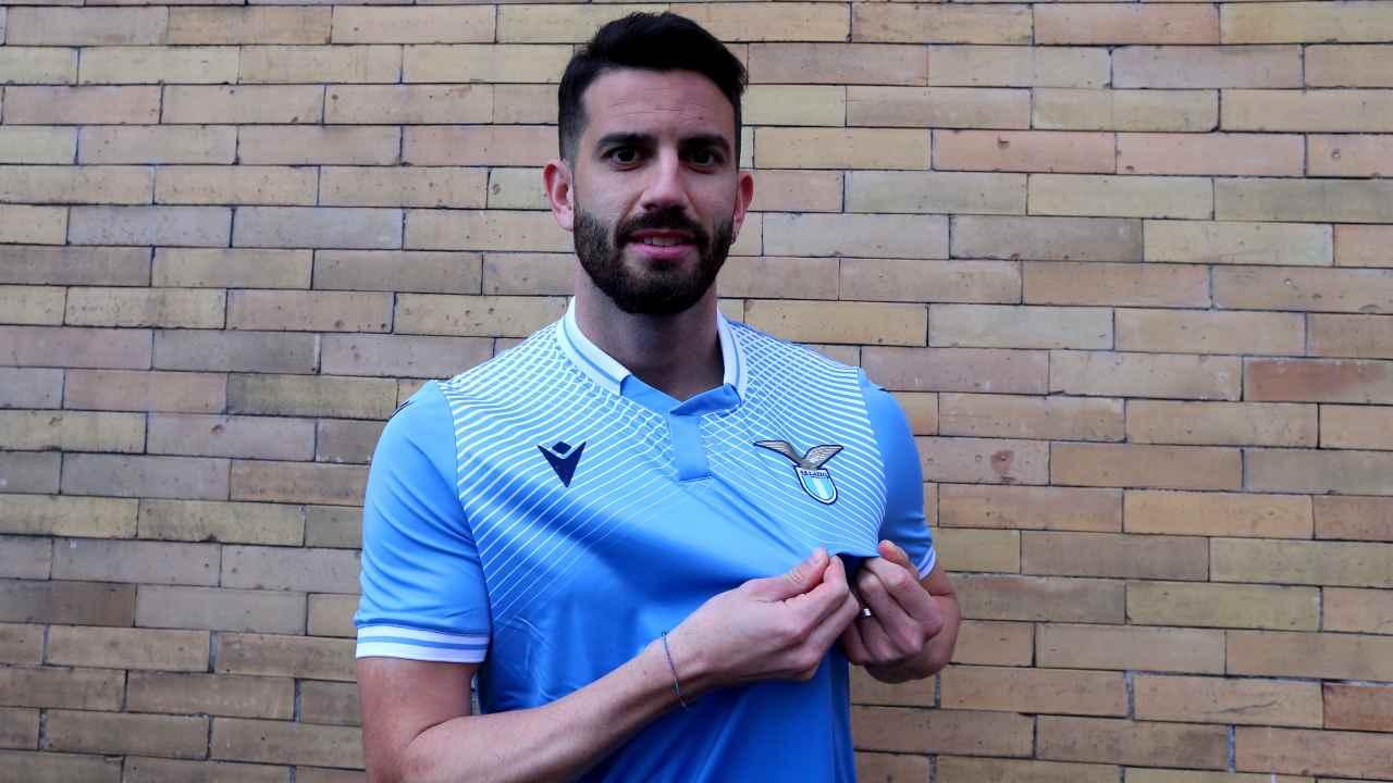 Mateo Musacchio con la maglia della Lazio